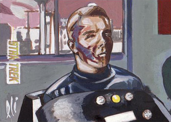Lee Lightfoot Sketch - Captain Christopher Pike