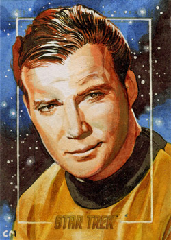 Chris Meeks AR Sketch - Captain James T. Kirk