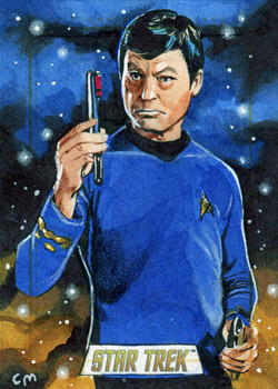 TOS 50th Sketch - Chris Meeks