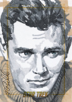 Tanner Padlo Sketch - Captain Christopher Pike