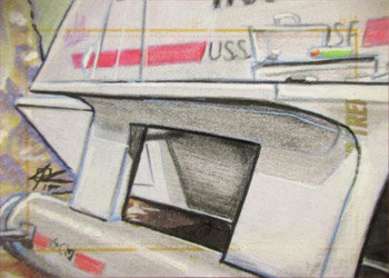 John Rademacher Sketch - Shuttlecraft Galileo