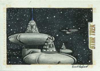 Brent Ragland Sketch - Space Station K7