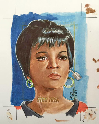 Scott Rorie AR Sketch - Uhura