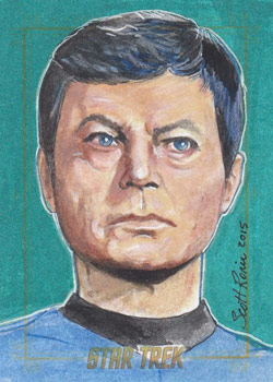Scott Rorie Sketch - Dr. McCoy