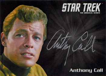 Silver Autograph - Anthony Call