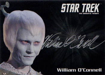 Silver Autograph - William O'Connell