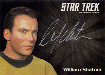 Silver Autograph - William Shatner
