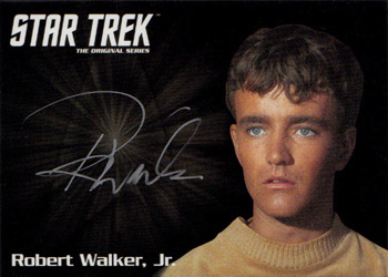 Silver Autograph - Robert Walker Jr.
