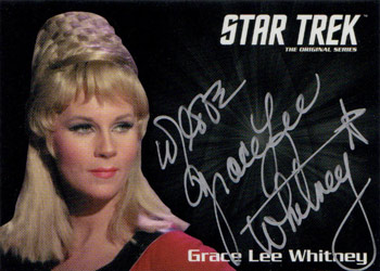 Silver Autograph - Grace Lee Whitney