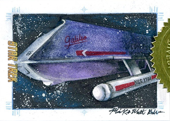Mick & Matt Glebe Sketch - Shuttlecraft