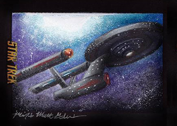 Mick & Matt Glebe Sketch - USS Enterprise