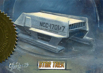 Charles Hall Sketch - Shuttlecraft Galileo