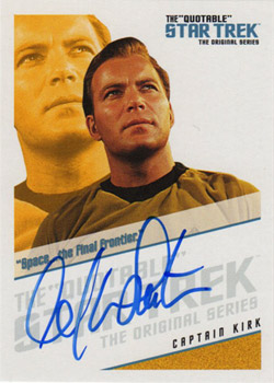 QA1 William Shatner - Space