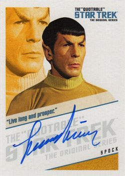 QA2 Leonard Nimoy - Fascinating