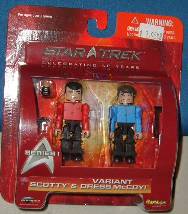 MM Series 1 Scotty and Mccoy Variant