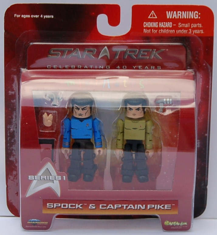 MM Series 1 Spock and Pike