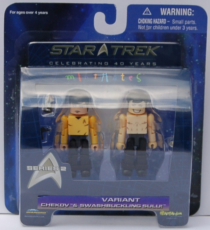 MM Series 2 Chekov & Sulu Variant