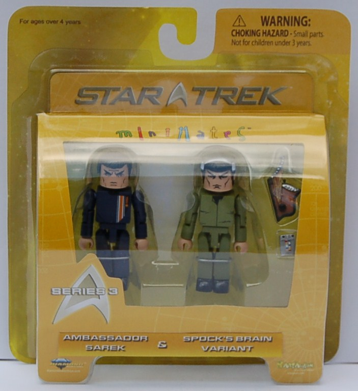 MM Series 3 Sarek & Spock Variant