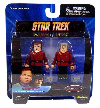 MM Series 4 Kirk & Scotty Variant
