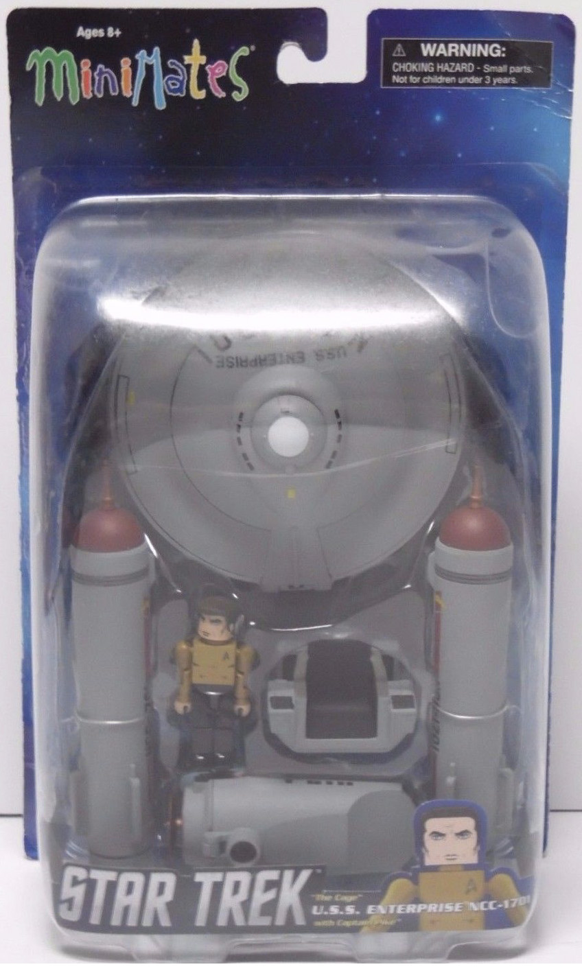 MM USS Enterprise NCC-1701 Cage