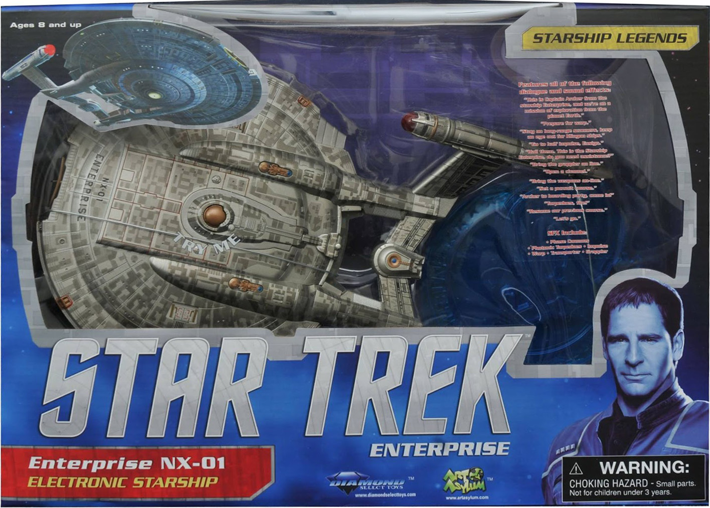 Enterprise NX-01 Re-release