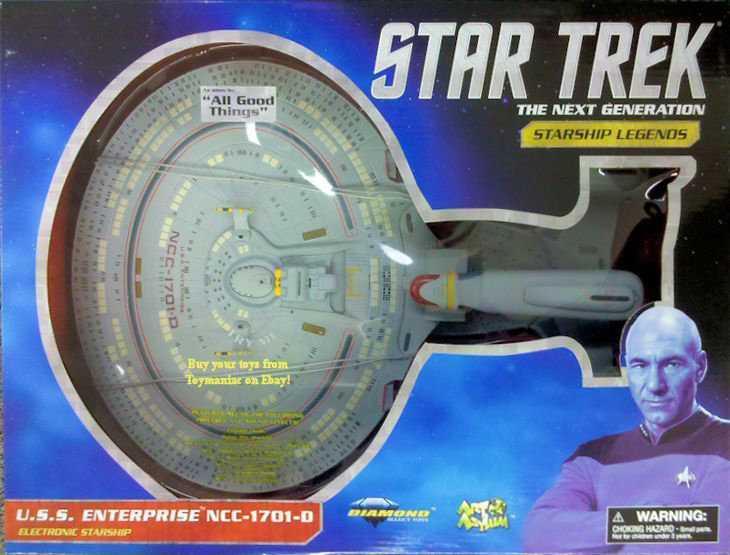 U.S.S. Enterprise NCC-1701-D re-issue