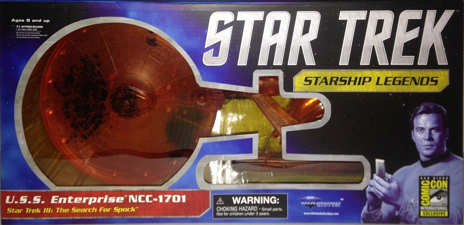 ORANGE U.S.S. Enterprise NCC-1701 Refit