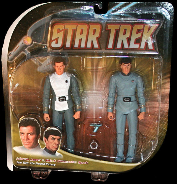 TMP 2 Pack Kirk and Spock