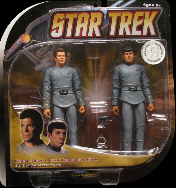 TMP 2 Pack Kirk and Spock Toys R Us