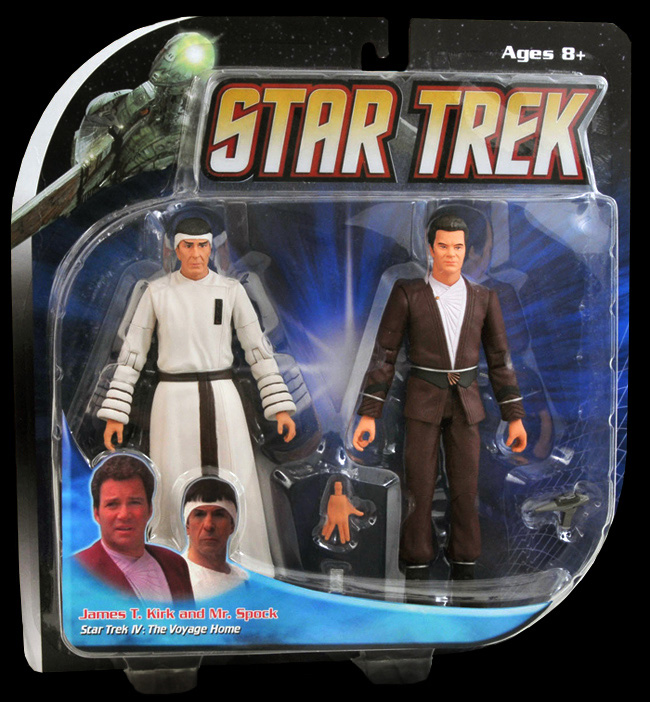 TVH 2 Pack Kirk and Spock