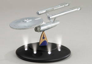USS Enterprise NCC-1701 with Lights