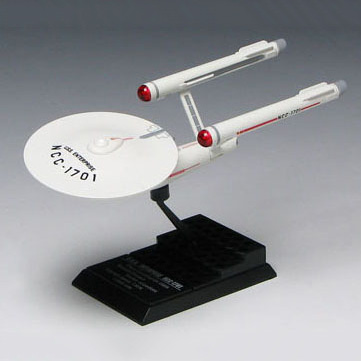 ftoys Series 1 USS Enterprise NCC-1701