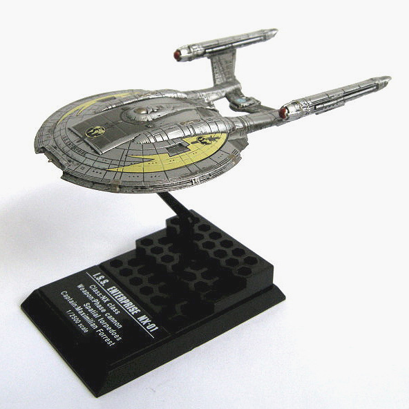 ftoys Series 1 ISS Enterprise NX-01