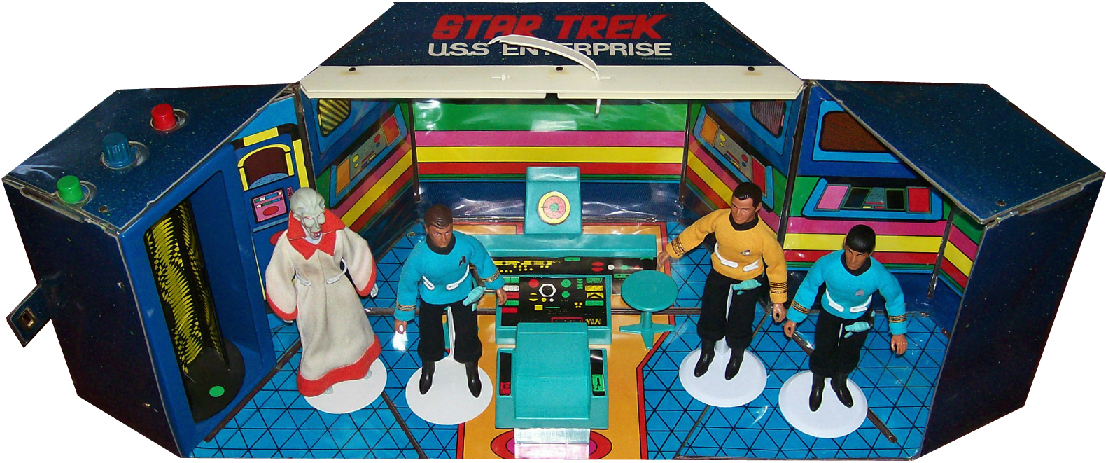 Mego Enterprise Playset US Box