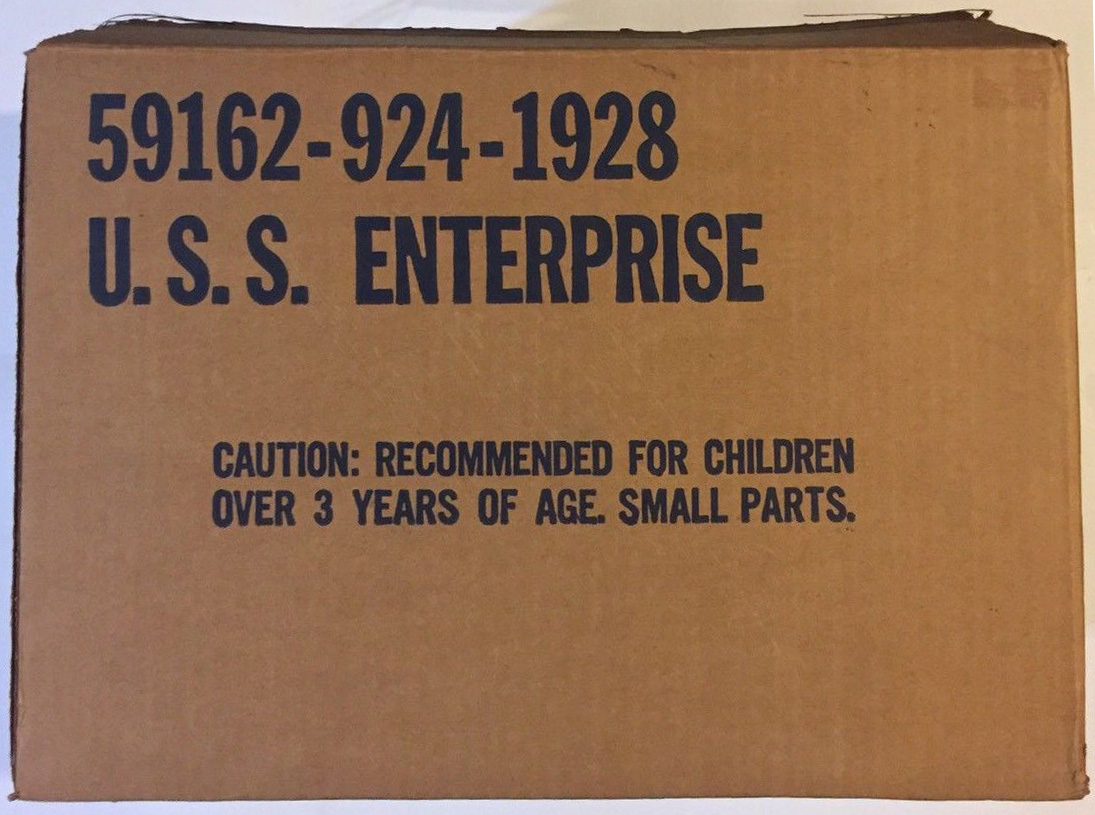 Mego Enterprise Playset Catalog Box