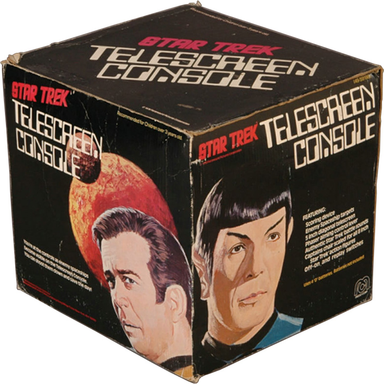 Mego Star Trek Telescreen Console Box