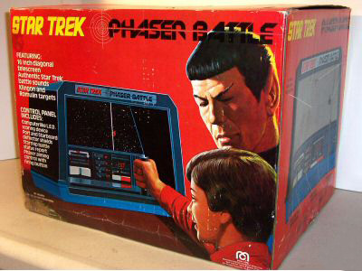 Mego Phaser Battle Game Box
