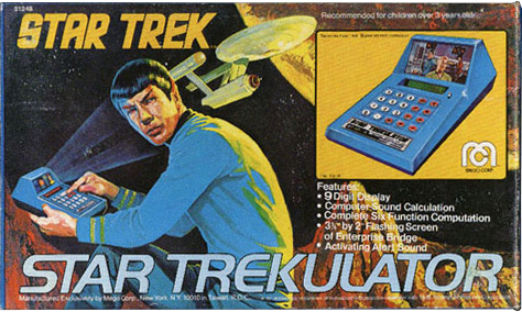 Mego Star Trekulator Box