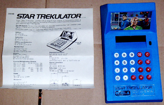 Mego Star Trekulator