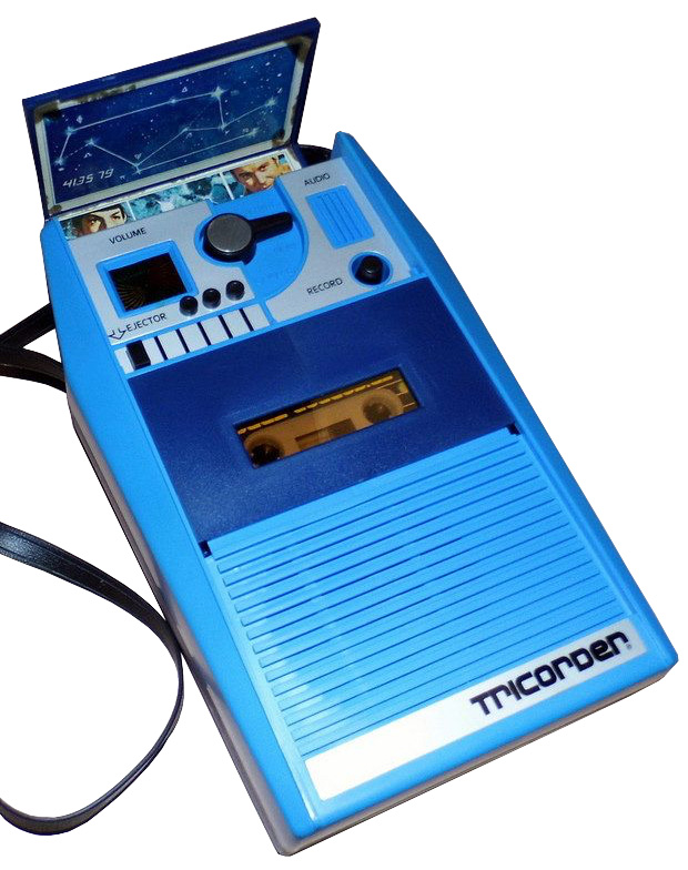 Mego Tricorder Box