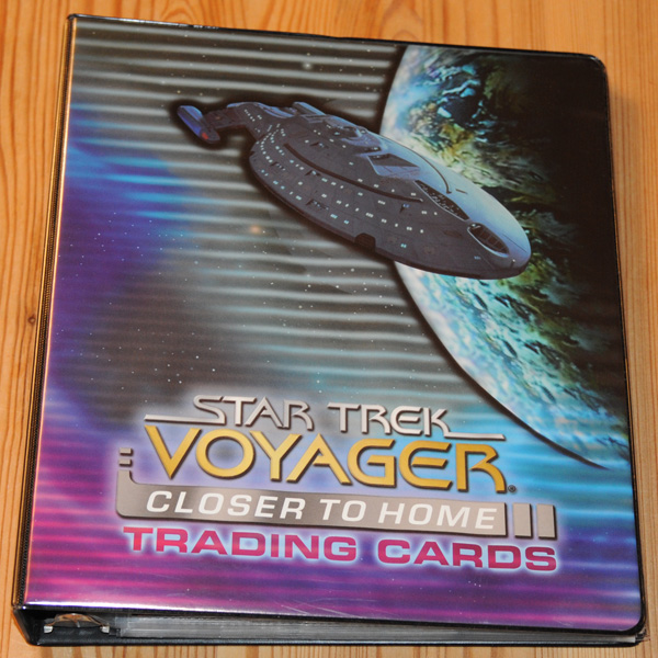 Star Trek Voyager Closer to Home Binder