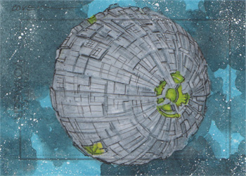 Roy Cover Sketch - Borg Sphere