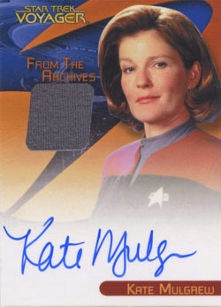 Kate Mulgrew Autograph/Costume
