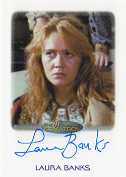 Autograph - Laura Banks as Khan's Navigator