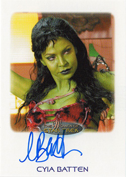 Autograph - Cyia Batten as Navaar