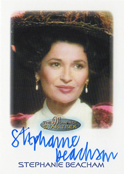 Autograph - Stephanie Beacham as Regina Bartholomew