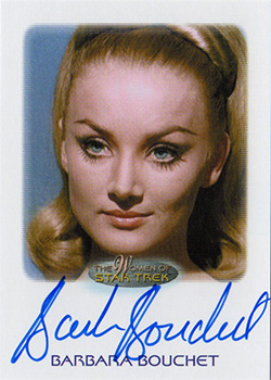 Autograph - Barbara Bouchet as Kelinda