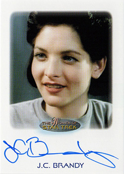 Autograph - J.C. Brandy as Ensign Marta Batanides