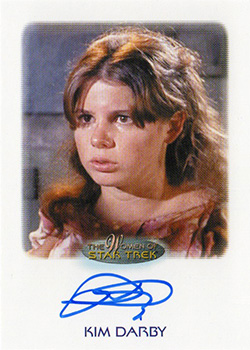 Autograph - Kim Darby as Miri