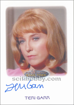 Autograph - Terri Garr as Roberta Lincoln